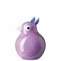 Violettes Glas-Vögelchen »Lotta«. Bild 1