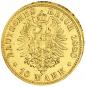 Goldmünze 10 Mark Wilhelm I. Bild 1