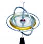 Gyroskop aus Metall. Bild 1