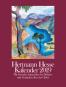 Hermann Hesse Kalender 2019. Mit 13 Aquarellen und Gedanken über das Glück. Bild 1