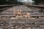 Holzbausatz »Dampflokomotive Locomotion 1824«. Bild 1