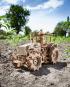 Holzbausatz »Traktor«. Bild 1