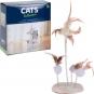 Katzenspielzeug mit Federn. Bild 1