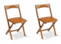 Klappstuhl aus Buchenholz, 2er Set. Bild 1