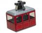 Kleine rote Modell-Seilbahn. Bild 1