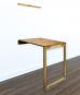 Massivholz-Klapptisch mit Tafel, aus Eiche. Bild 1