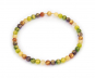 Murano-Collier »Farben des Glücks«. Bild 1