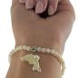 Perlmut Armband mit Delfin Bild 1