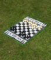 Schachspiel in XXL. Bild 1