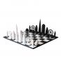 Schachspiel Skyline Chess London berühmte Gebäude. Bild 1