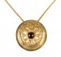 Scheibenfibel vom Sonnenbühl als Anhänger, Eisenzeit, um 400 v. Chr. Bild 1