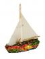 Segelboot aus Mosaik. Bild 1