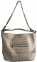 Shopper metallic, champagner. Bild 1