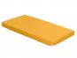 Spannbetttuch, goldgelb, 100 x 220 cm. Bild 1