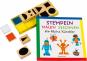 Stempeln, malen, zeichnen Set für kleine Künstler. Buch mit 10 Holzstempeln und 2 Stempelkissen. Bild 1