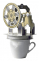 Stirling-Motor - Kartonbausatz Bild 1