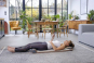 Thai-Yoga-Massagematte. Bild 1
