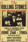 Blechschild »The Rolling Stones«. Bild 1