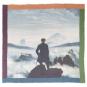 Tuch C. D. Friedrich »Der Wanderer über dem Nebelmeer«. Bild 1