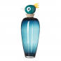 Vogelvase Papagei »Luigi«, blau. Bild 1