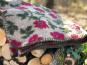 Wolldecke mit Rosen. Bild 1