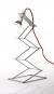 Ziehharmonika-Lampe, 60 cm. Bild 1