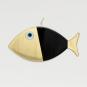 2 Wanddeko-Fische, schwarz. Bild 2