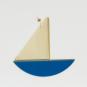 2 Wanddeko-Schiffe, blau. Bild 2
