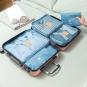6 Ordnungstaschen für Koffer. Bild 2