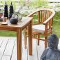 Sitzkissen »Acacia Springs«, halbrund. Bild 2