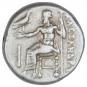 Antike Silber-Drachme Alexander der Große. Bild 2