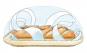 Backplatte »Baguettebäcker«. Bild 2