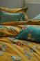 Bettwäsche »Blütenmotiv«, gelb. Bild 2
