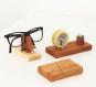 Brillenhalter aus Holz. Bild 2