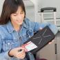Elektronisches Reiseetui mit Diebstahlschutz. Bild 2