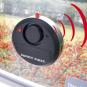 Glasbruchalarm für Fenster, schwarz. Bild 2