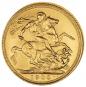 Goldmünze Sovereign Victoria Bild 2