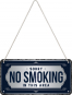 Hängeschild »No Smoking«. Bild 2