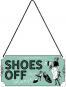 Hängeschild »Shoes Off Please«. Bild 2