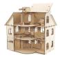 Holzbausatz »Puppenhaus«. Bild 2