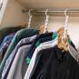 Kleiderbügel-Aufräumer. Bild 2