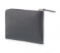 Kleines Leder-Portemonnaie »Lineage«, blaugrau. Bild 2