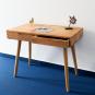 Massivholz-Schreibtisch aus Eiche. Bild 2