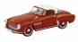 Modell Wartburg 313/3 Sport, rot - Modell 1:43 Bild 2
