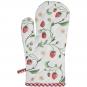 Ofenhandschuh und Topflappen Set »Wilde Erdbeeren«. Bild 2