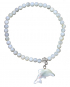 Perlmut Armband mit Delfin Bild 2