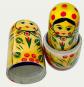 Russische Matrjoschka-Figuren 5 Stück Bild 2