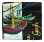 Seidenschal Vincent van Gogh »Fischerboote«. Bild 2