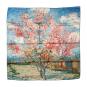 Seidentuch Vincent van Gogh »Pfirsichbaum«. Bild 2