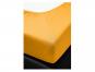 Spannbetttuch, goldgelb, 100 x 220 cm. Bild 2
